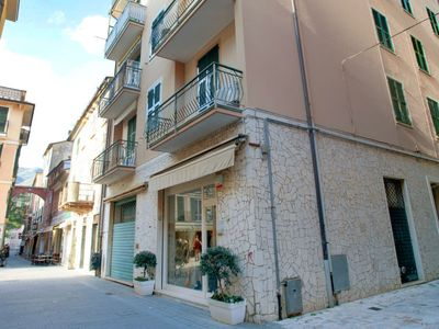 Photo for 2 bedroom Apartment, sleeps 8 with Air Con and Walk to Beach & Shops