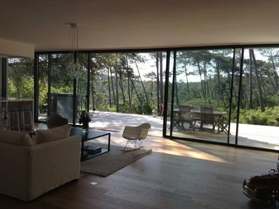 Photo for Pyla Sur Mer: Architect designed villa with stunning views over the forest