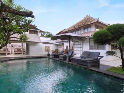 Photo for Amore Mio, 3.5 Bedroom Villa, closed living area, central Seminyak