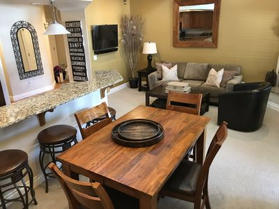 Photo for Luxury Two-Story Mountain View Condo in Downtown Leavenworth