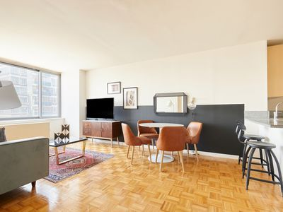 Photo for Sonder | Theater Suites | Spacious 1BR + Laundry