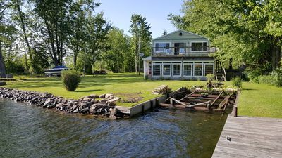 Photo for Sits on edge of Oneida River, great swimming an fishing in river and Oneida lake