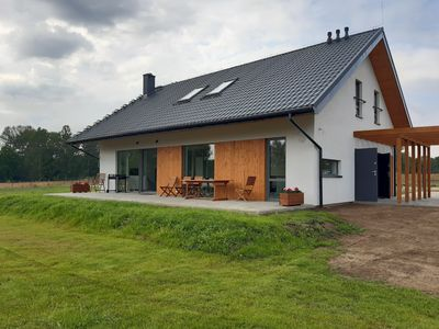 Photo for VILLA RA with large garden and sauna in the middle of nature