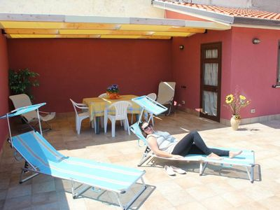 Photo for CASA SIMONA WITH WONDERFUL TERRACE. OFFER € 200.00. INTERNET FREE!