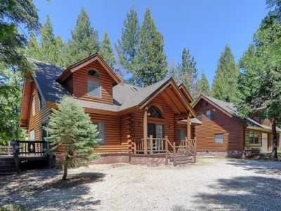 Photo for Ultimate Lassen House! Cedar Hot Tub!  Private Trout Stream! 20 Acres of Woods!