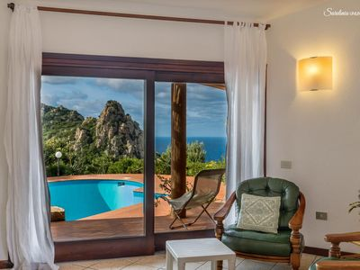 Photo for Villa Zinnia: with private pool and seaview