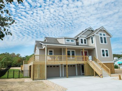 Photo for OBX Parade of Homes Winner , Immaculate new home, Quick-easy Beach Access,