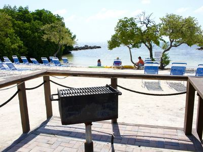 Photo for New Listing! Three Cozy Ocean View 2BR Apartments, Private Beach, Balcony, BBQ