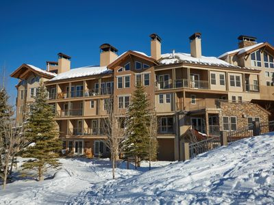 Photo for Luxurious Ski-In/Ski-Out 3 Bedroom Condo, Multiple Levels in Unit, Pool and Hot Tub On-Site