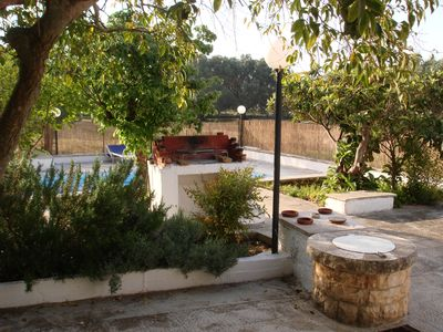 Photo for Ostuni Villa  free WiFi ,with VERY private pool contact