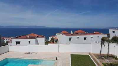 Photo for Exclusive villa in Tangier, sea views, private pool and beach access