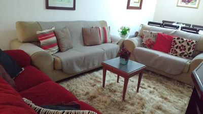Photo for Rent apartment for season and weekend in the beach of the cove in guaruja