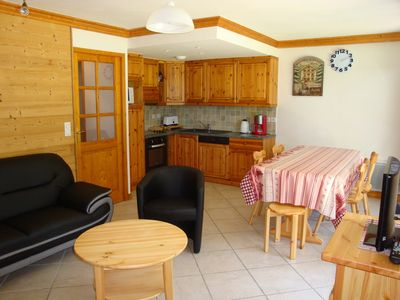 Photo for 2BR Apartment Vacation Rental in PRALOGNAN LA VANOSIE, PRALOGNAN LA VANOSIE