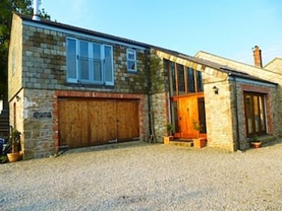 Photo for Spacious Barn. 20/07 available. Helford Passage/Falmouth, family parking gardens