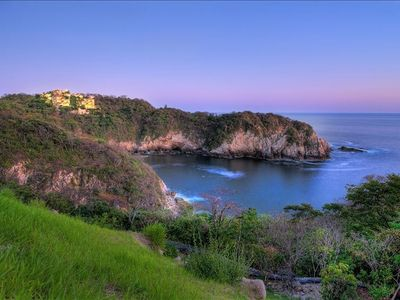 Photo for Oceanfront Weddings & Family Reunions, Beach View Private Resort, Huatulco Beach