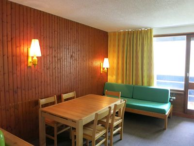 Photo for 2 ROOMS APARTMENT AT THE ENTRANCE OF TIGNES VAL CLARET SOUTH FACING - SCHUSS 806