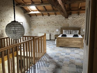 Photo for Detached house + private pool mins from Aubeterre