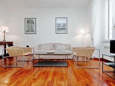 Photo for Elegant newly renovated apartment for 6 people near the Vatican