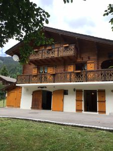 Photo for Beautiful large detached traditional style chalet in the ski resort of Châtel