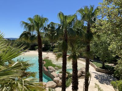Photo for Beautiful apartment Les Restanques sea view Gulf of St Tropez