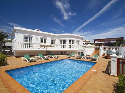 Photo for This beautifully appointed family accommodation is situated in the old town part of Puerto del Carme