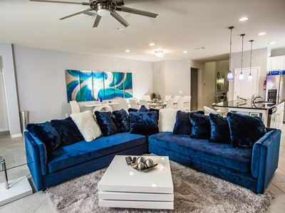 Photo for 5-STAR, 8Bed-6Bath, Windsor at Westside Near Disney! STAR WARS THEATER ROOM!!!