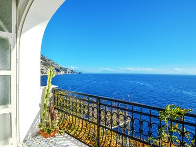 Photo for Apartment-Amalficoast-sea view-parking-air conditioning-wifi-pet allowed