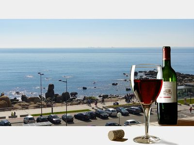 Photo for Affordable Luxury Beach Apartment with superb sea view 10 minutes from Porto