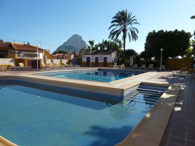 Photo for Quiet holiday with garden, communal pool and beach 10 minutes walk.