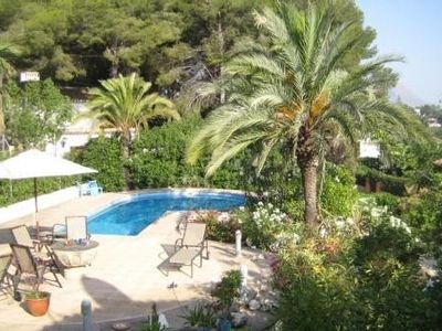 Photo for Charming villa in Javea, quite area, private pool, 9 persons.