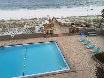 Photo for Emerald Escape On Okaloosa Island - Beachfront With Large Private Balcony