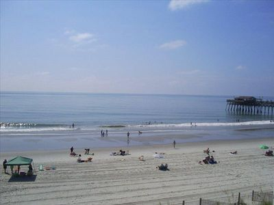 Photo for WALK to Pier, direct OCEANFRONT, Private POOL & BALCONY, INCLUDES Linens, Clean!