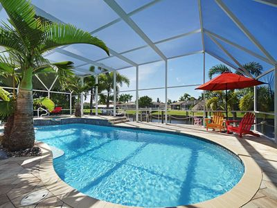 Photo for Villa Water Paradise -  3,300 SF pool area with south exposure, Tiki, Lift, Free Wifi
