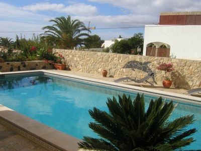 Photo for 2 bed property with private pool and superb views - a rare find in Salema