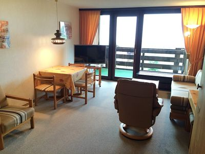 Photo for Apartment 279 m from the center of Disentis with Lift, Parking, Internet, Washing machine (52655)