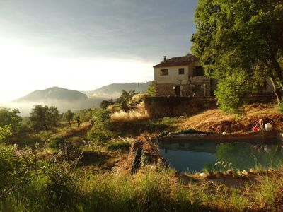 Photo for Modern apartment in renovated masia in the mountains close to the village