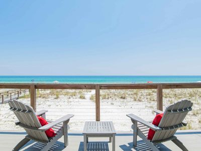Photo for Beachfront Pensacola Beach Home ~ Close to Area Attractions