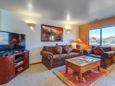 Photo for Dog-friendly condo w/ shared seasonal pool - walk to Steel Bender Trail