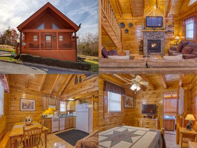Photo for 208 Cozy Cabin -Walking distance to Parkway, Museums, Various Restaurants!