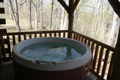 Private Hot Tub Available For Use Year-Round