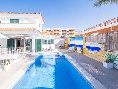Photo for This 5-bedroom villa for up to 10 guests is located in Callao Salvaje and has a private swimming poo