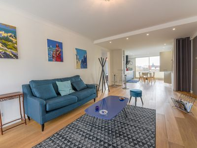 Photo for Superb apartment for 4 people in 1st line with parking