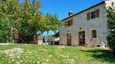 Photo for LAST-MINUTE (06. 07.-13. 07.) Stone house with fireplace, only 2 km from the sea