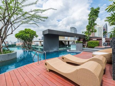 Photo for Luxury 1 Bedroom Condo @ Heart of Bangkok-24 HOUR CHECK-IN