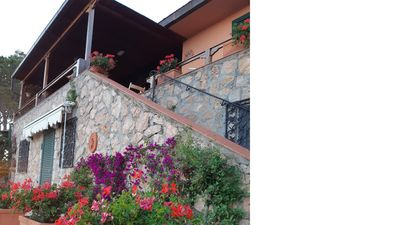 Photo for Casa Calapiccola with breathtaking views of the Giglio islands, Giannutri,