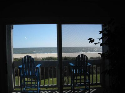 Photo for A Breath of Heaven: 2 Bed/2 Bath Oceanfront Condo with Community Pool