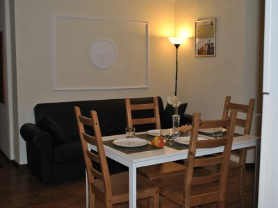 Photo for Elegant apartment near the station and a short walk from the center