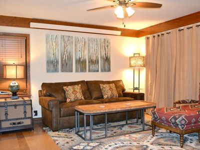 Photo for Teewinot A1: Teton Village - Impressive Ground Floor Condo, Sleeps 6 - Pool and Hot Tub Access!
