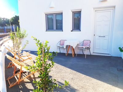 Photo for Contemporary Cycladic Apartment in Quiet Area