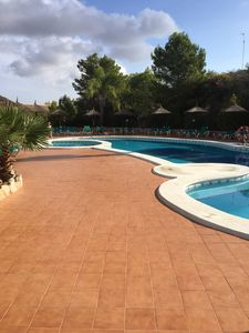 Photo for Luxury 3 bedroom apartment in the centre of the La Manga resort.